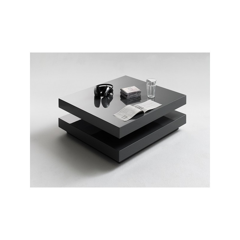 Dining table glass dining tables leeds - Halo Graphite High Gloss Coffee Table Coffee Tables