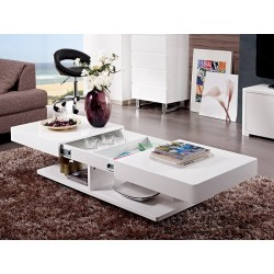 black high gloss coffee tables sena home furniture. Black Bedroom Furniture Sets. Home Design Ideas