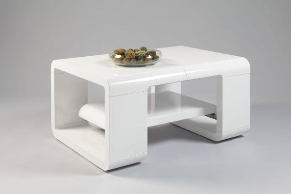 Aldi extendable gloss coffee table coffee tables sena - Couchtisch aldi ...