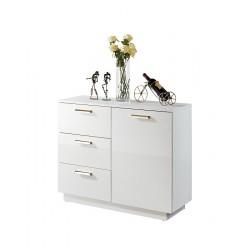 Leeds - gloss white cabinet