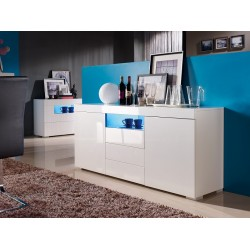Manchester - gloss sideboard with LED lights