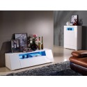 Manchester - gloss large cabinet with LED lights