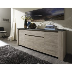 Elba - oak sideboard with marmor top