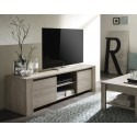 Elba - oak TV Stand with marmor top
