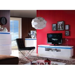 Avanti III  - gloss tv unit with LED lights