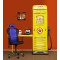 Filling station- Wardrobe with desk