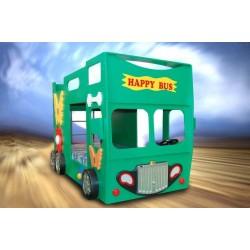 Double Decker Bunk Bed - Happy Bus