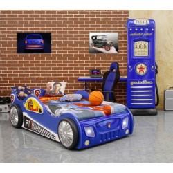 Monza racing car bed with LED lights