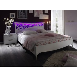 Ambrosia- high gloss lacquered bed