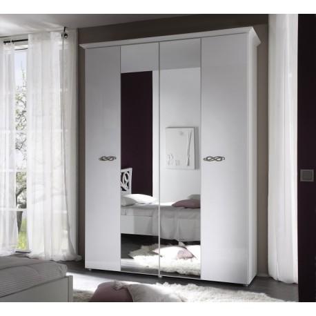Ambrosia 4 Door lacquered gloss wardrobe