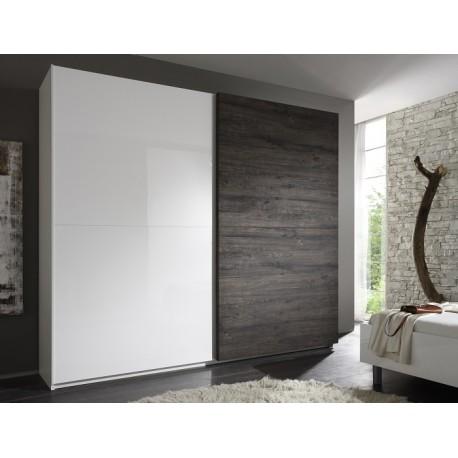 Tambura - wardrobe white and wenge