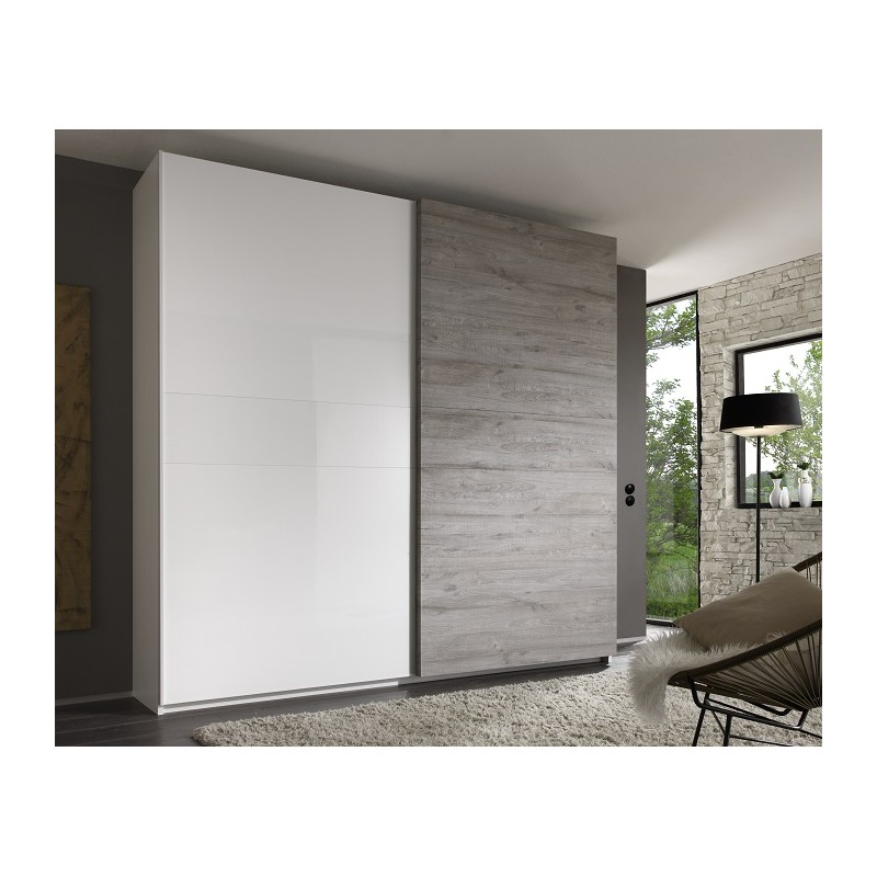 Tambura wardrobe white and grey Wardrobes Sena Home  : tambura wardrobe white and grey from sena-homefurniture.co.uk size 800 x 800 jpeg 83kB