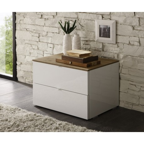 Tambura- high gloss bedside cabinet
