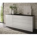 Tambura- high gloss 5 chest of drawer