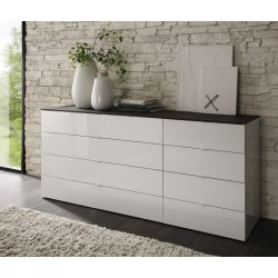 Tambura VI - high gloss chest of drawer