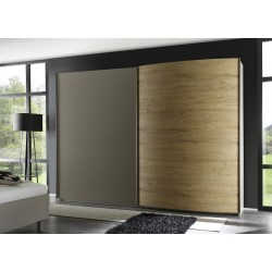 Tambura I- wardrobe with curved door