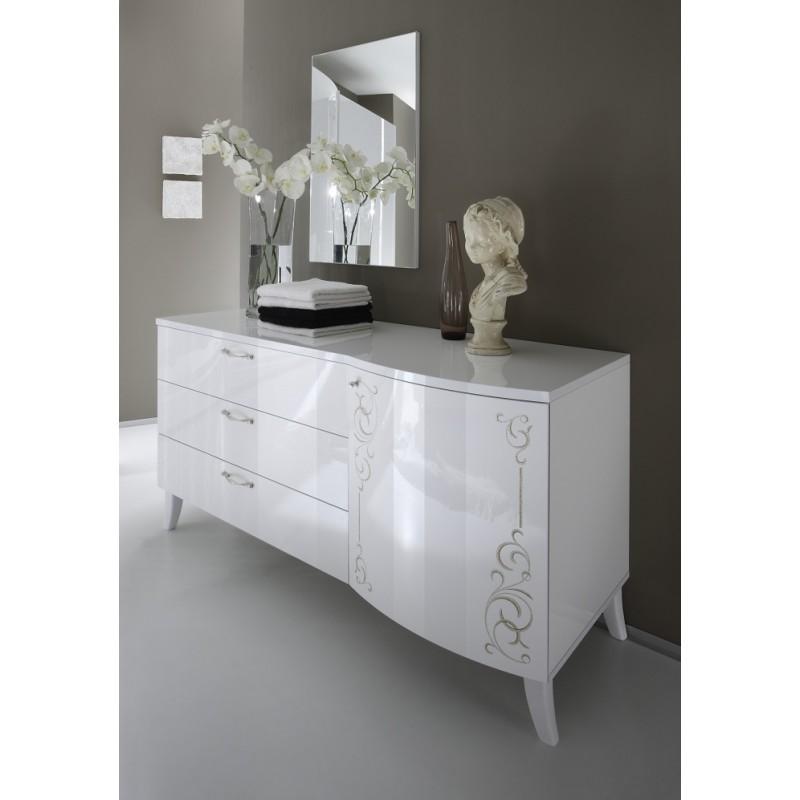 Sibilla Modern Lacquered Bedroom Set Bedroom Sets Sena