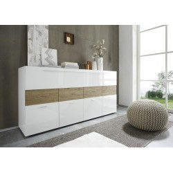 Line - high gloss chest of drawer