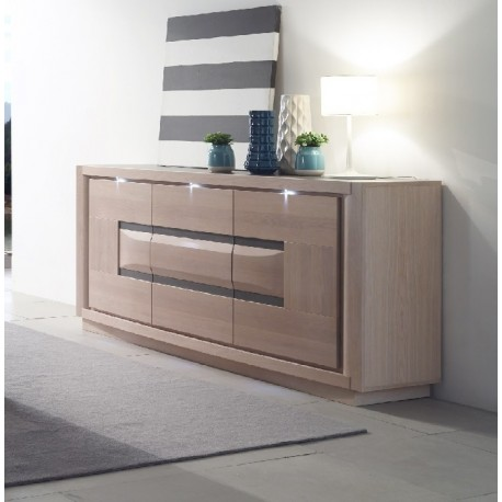 Marina large solid wood exclusive sideboard