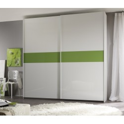 Smart - large lacquered sliding door wardrobe