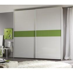Smart - large lacquered sliding door wardrobe