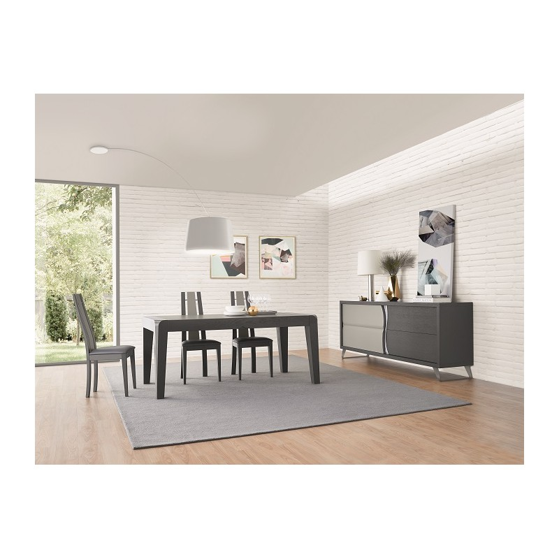 Sigma exclusive dining table dining tables sena home for Exclusive dining table