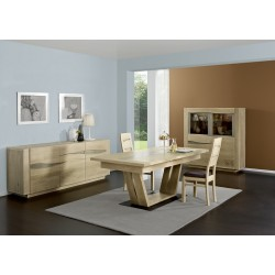 Bora solid wood exclusive sideboard