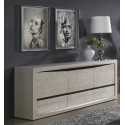 Soft large solid wood exclusive sideboard