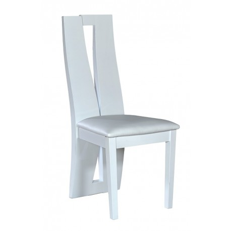 Brook - high gloss luxury dining chair