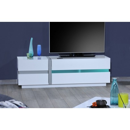Cross White Tv Stand With Led Lights Tv Stands 1214 Sena