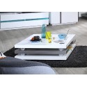 Cross- gloss coffee table