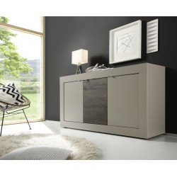 Dolcevita three door beige sideboard