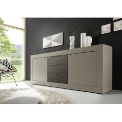 Dolcevita II matt beige sideboard with drawers