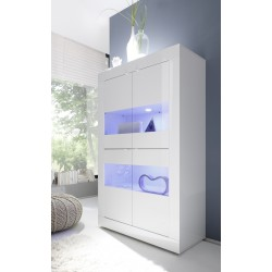 Dolcevita - wide gloss display cabinet