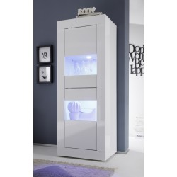 Dolcevita - narrow gloss display cabinet