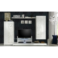 Padua wall set with decorative ornaments