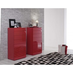 Metri luxury tall chest of drawers