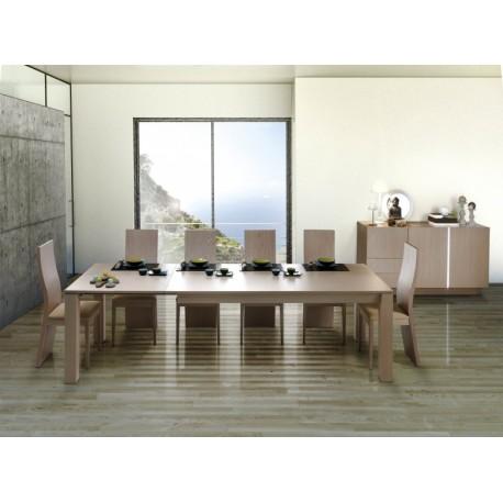 Metri wood extendable dinning table