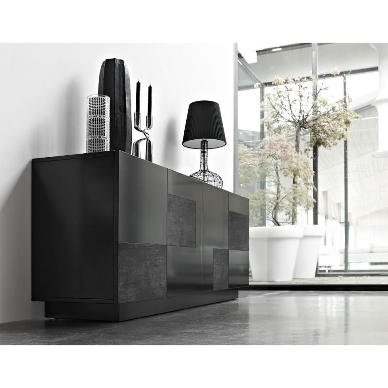 Oxa Iii Luxury Sideboard With Ceramic Inserts Sideboards Sena Home Furniture