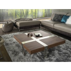Oxa- veneer coffee table