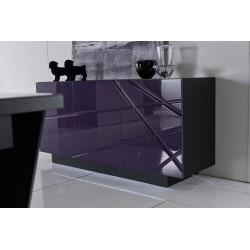 Rika -luxury high gloss sideboard