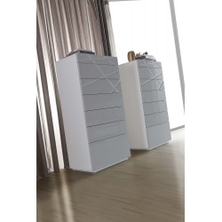 Rika -luxury tall chest of drawers
