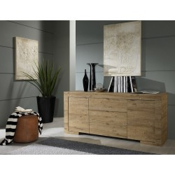 Milano oiled oak sideboard