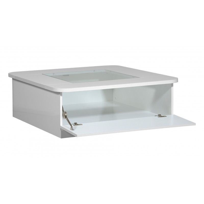Modo Contemporary High Gloss Coffee Table With Optional
