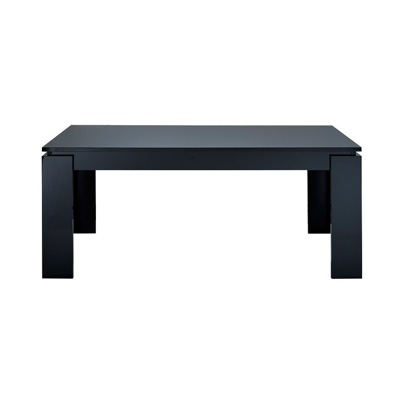 Floyd black gloss extendable dining table Dining tables  : floyd black gloss extendable dining table from sena-homefurniture.co.uk size 800 x 800 jpeg 17kB