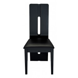 Floyd -black high gloss luxury dining chair