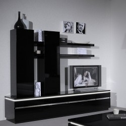 Orde -black gloss TV Stand