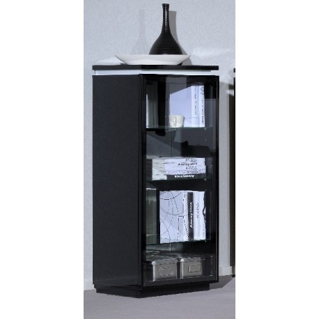 Orde -black glass display cabinet  sc 1 st  Sena Furniture & Orde -black glass display cabinet - Display Cabinets (1335) - Sena ...