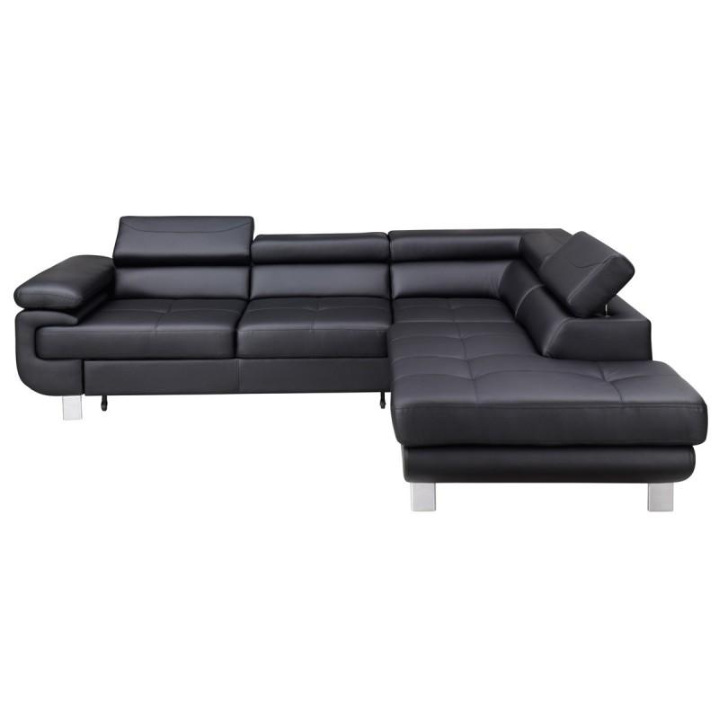 Corner Sofa Bed Contemporary: Luton-Modern Corner Sofa Bed