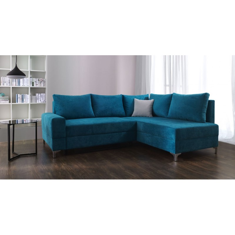 Leon modern corner sofa bed sofas sena home furniture Corner couch sofa bed